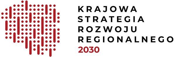 logo Krajowej Strategii Rozwoju Regionalnego 2030